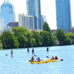 kayaking sup board austin texas