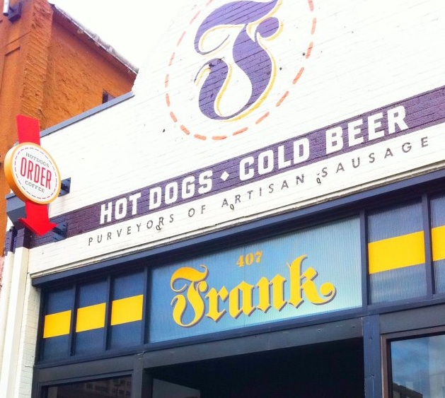 Frank Hot Dogs and Cold Beer