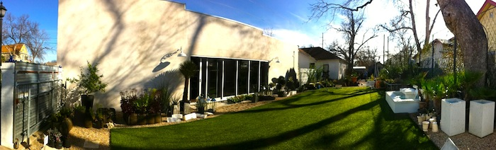 Big Red Sun Garden Austin