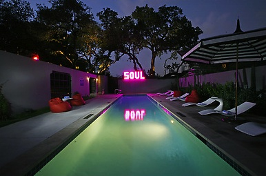 Saint Cecilia Pool Austin Texas