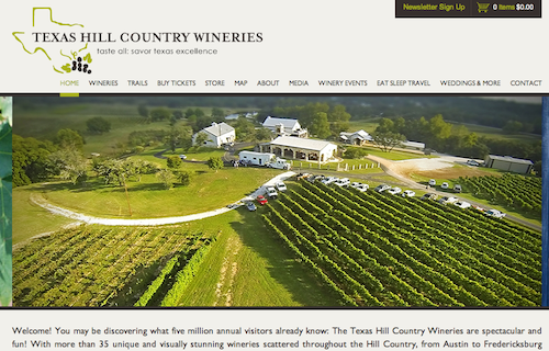 hill country wineries